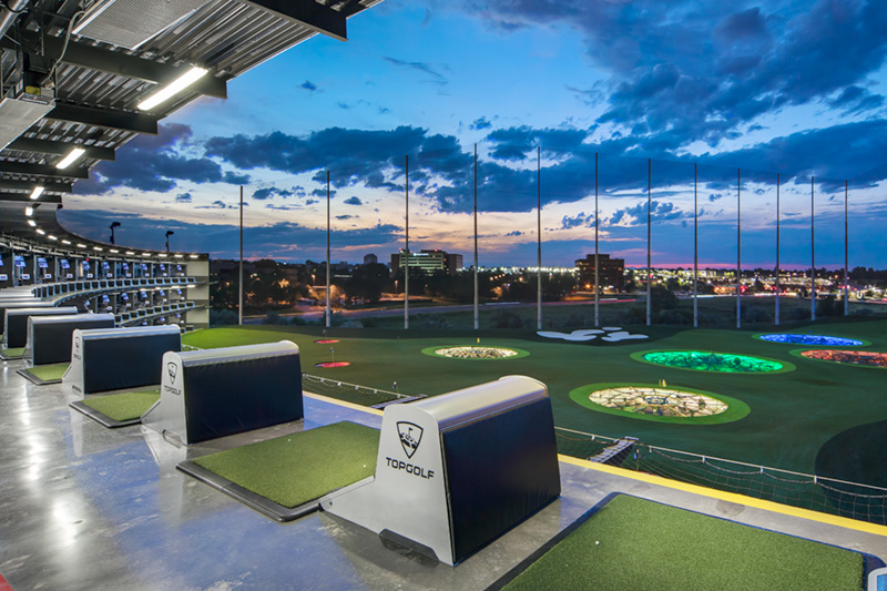EPR Golf Entertainment Topgolf